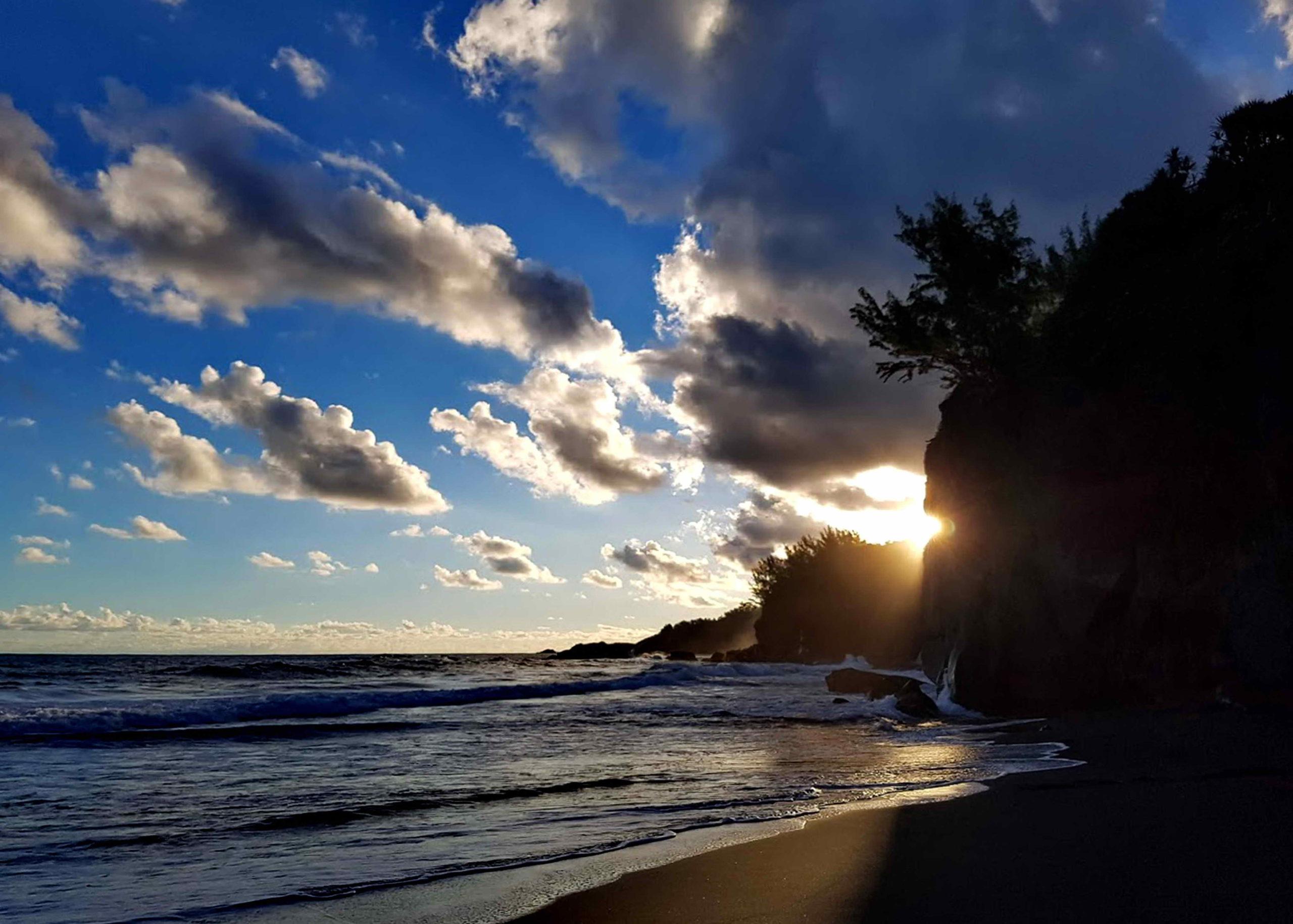 plage de ti-sable à Saint Joseph île de la réunion
